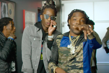 "Young Thug f. Quavo, Offset & Young Scooter ""Guwop"" Video"