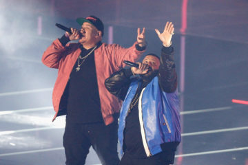 DJ Khaled, Fat Joe & Remy Ma Perform at NBA All-Star Saturday Night