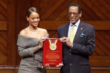 Rihanna Receives Harvard University's Humanitarian of the Year Award