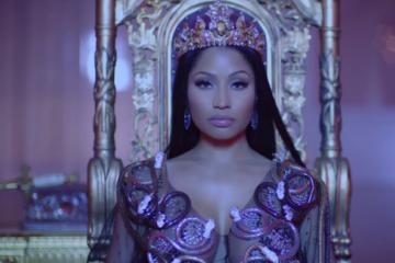 """Nicki Minaj Feat. Drake & Lil' Wayne """"No Frauds"""" Video"""