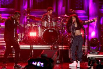 "SZA & Travis Scott Perform ""Love Galore"" on 'The Tonight Show'"