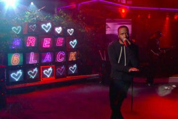 "6LACK Performs ""Free"" on 'The Late Show with Stephen Colbert'"