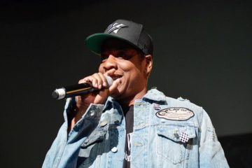 jay z on stage
