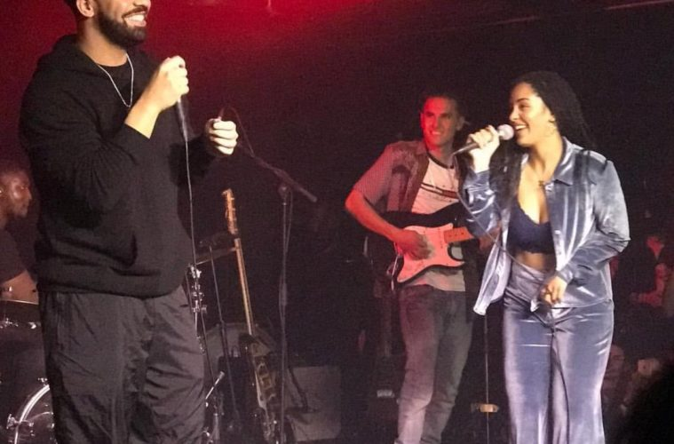 "Drake Joins Jorja Smith For ""Get It Together"" in Toronto"