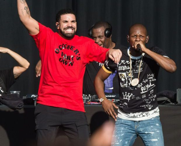 Giggs Brings Out Drake at Reading Festival