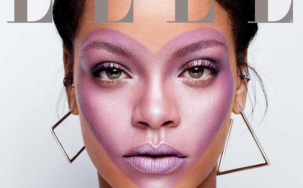 Rihanna Covers ELLE Magazine's October Issue