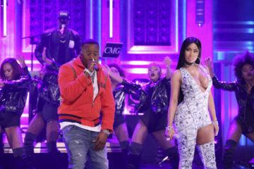 "Yo Gotti & Nicki Minaj Perform ""Rake It Up"" on 'The Tonight Show'"