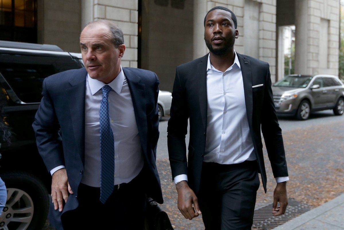 Meek Mill Sentenced to 2 to 4 Years In Prison for Probation Violation