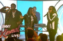 "Gucci Mane & Migos Perform ""I Get the Bag"" on 'Jimmy Kimmel Live!'"