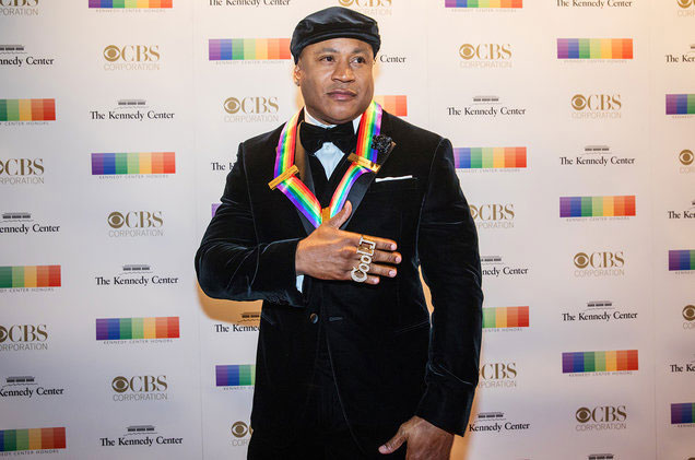 LL became the first hip hop artist to become a Kennedy Center honoree