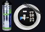 Water-Line Install Kit with Filter Cartridge and Filter Head