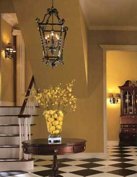 Pendant-lighting-foyer