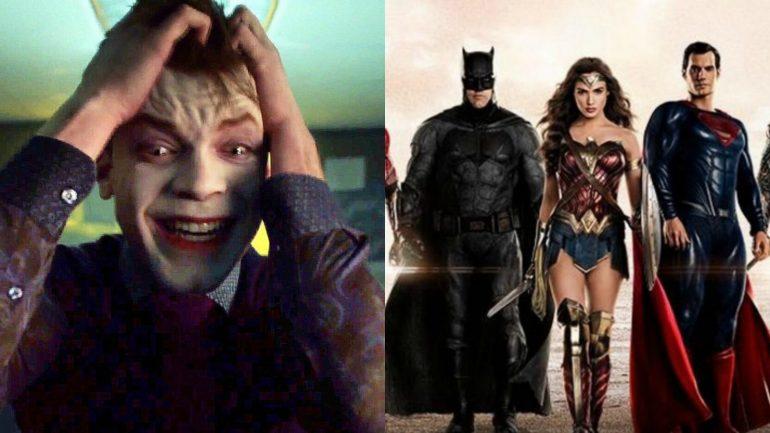 El Joker de Gotham se burla de Superman en Justice League