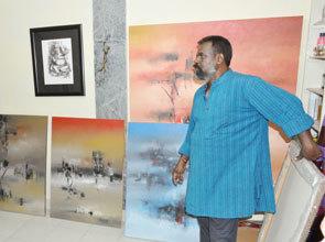 Raju Durshettiwar - Artwork 3