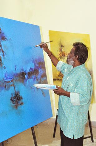 Artist - Raju Durshettiwar