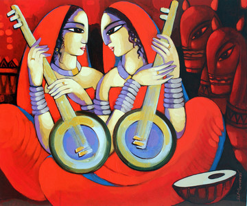 Figurative Art for Your Walls by Famous Indian Artists