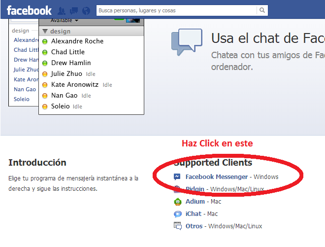 descargar facebook chat 1