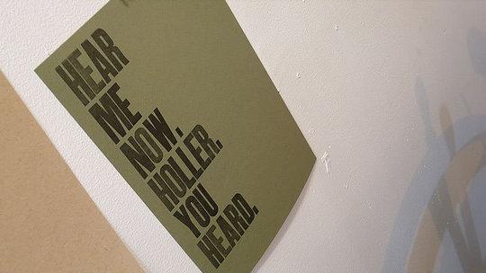 I Am Still Alive / Holler :  poster art home decorate