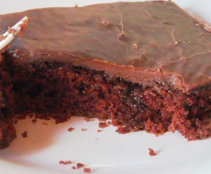 piece of fabulous chocolate cake