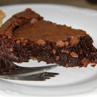 An easy pie that is a chocolate lover's dream.