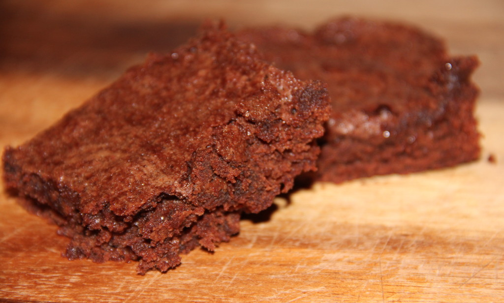 Cocoa Brownies--rich, chocolatey, moist, and super easy!