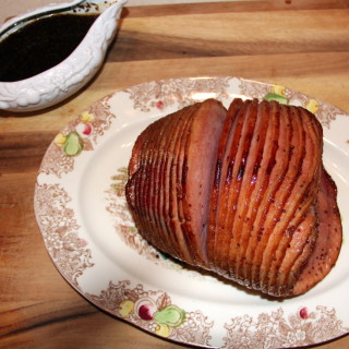 bourbon orange baked ham