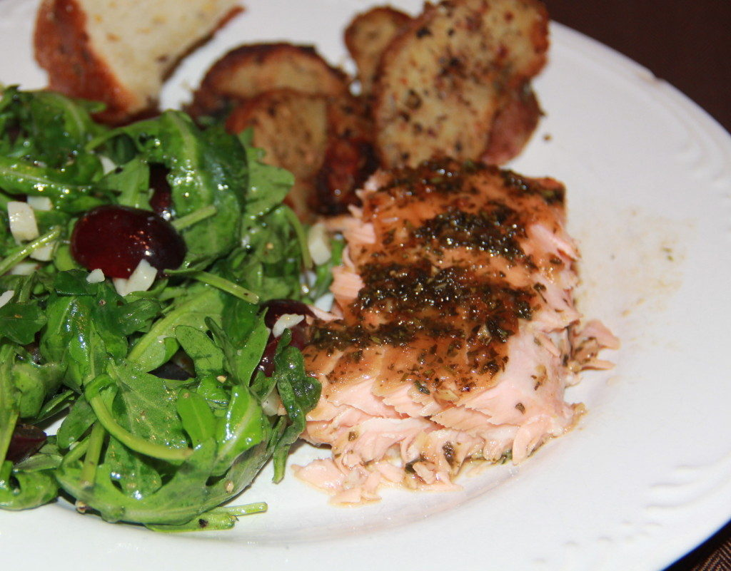 Easy Salmon Recipe with Lemon Zest and Fresh Herbs