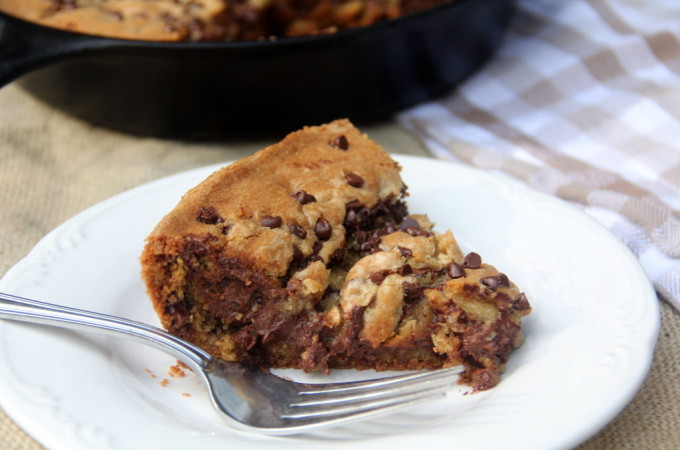 Chocolate Chip Cookie Pie--easy and delicious!