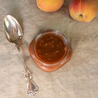 Peach Bourbon Barbecue Sauce