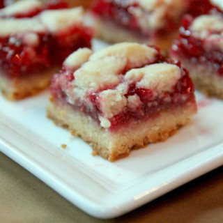 Raspberry Shortbread Bar