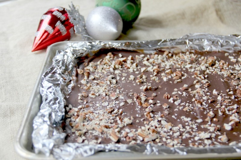 This easy Butter Toffee recipe is better than store bought and makes a great holiday food gift!