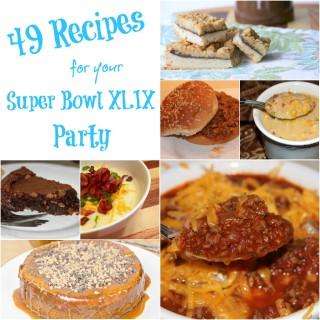49 super bowl recipes