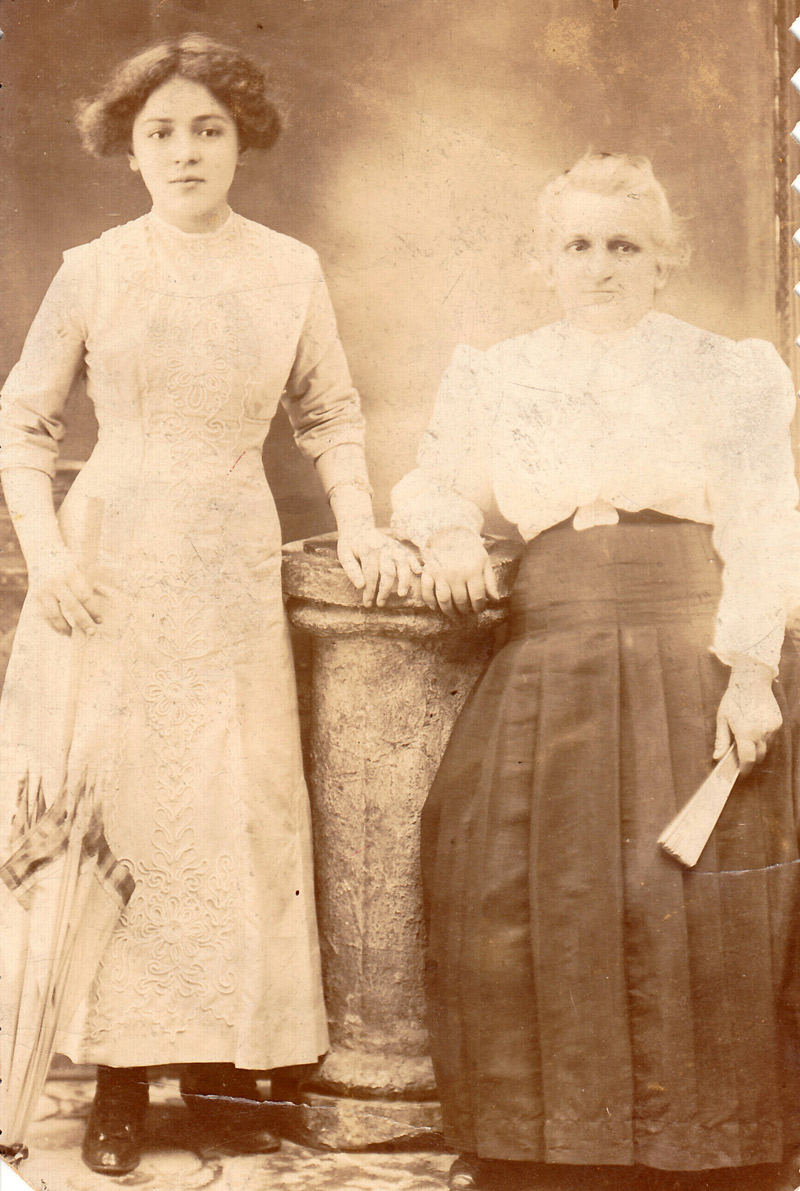 Tersilla Abate and her mother