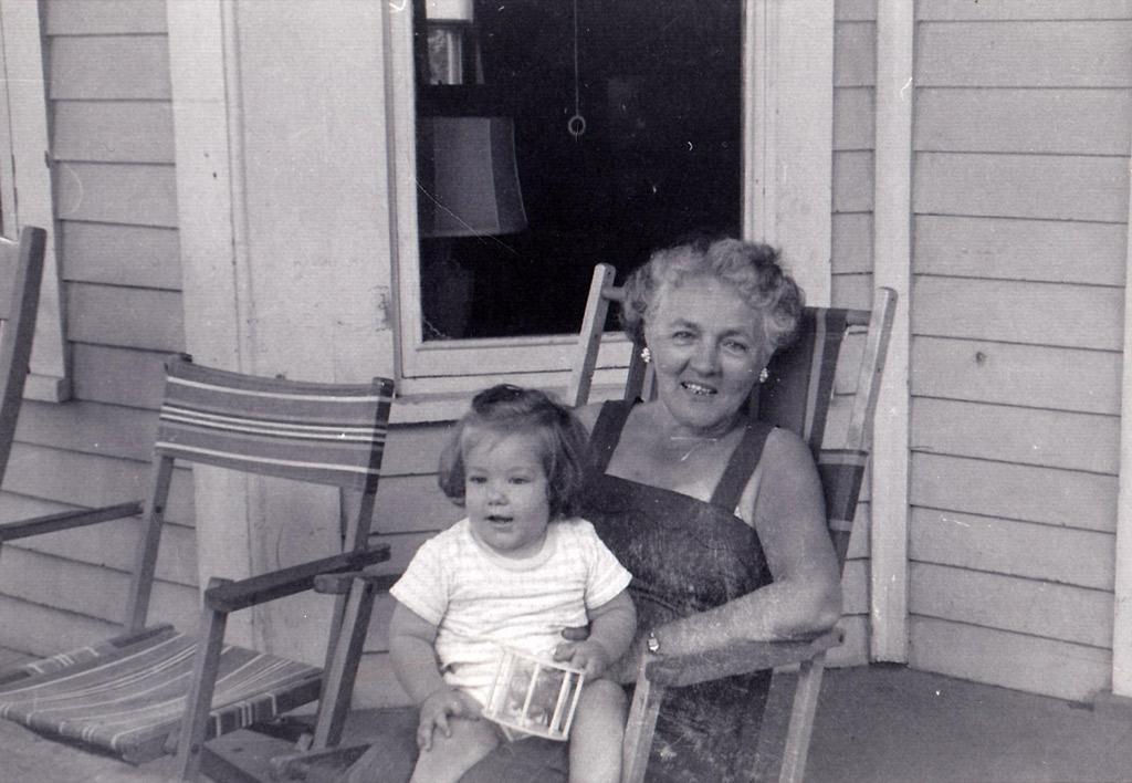 Tessie and grandbaby Rita