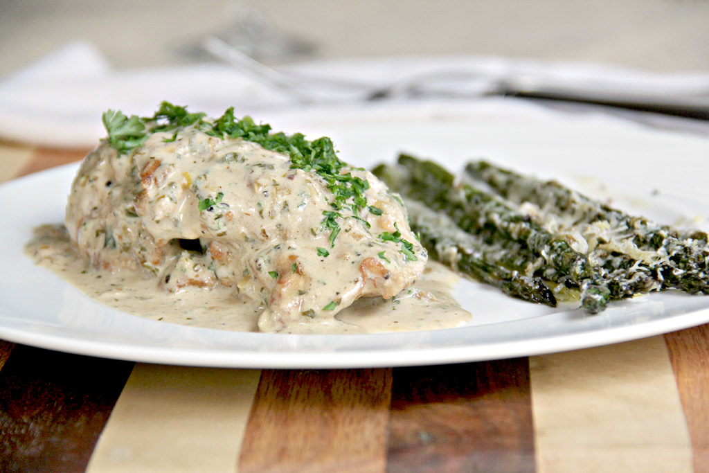Mustard Cream Sauce is a French pan sauce with a white wine and Dijon ...