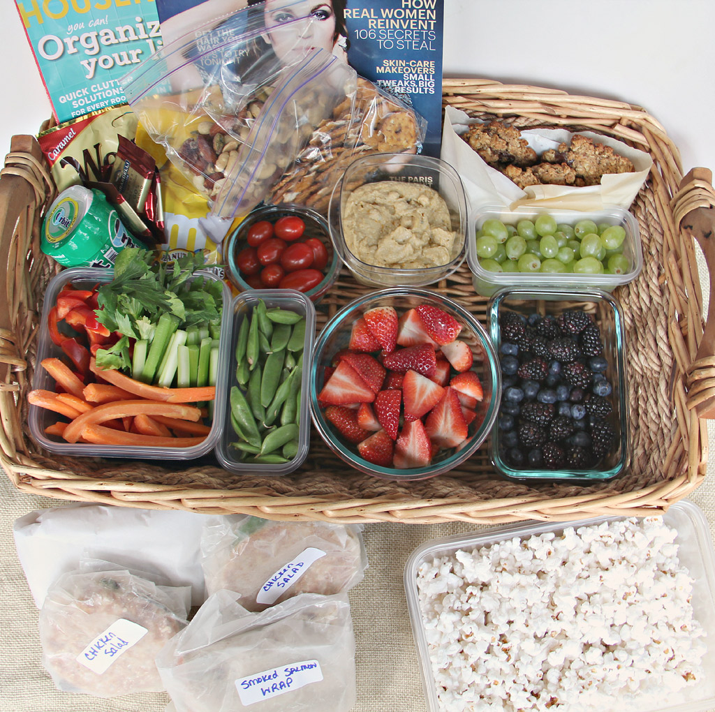 How to Pack a Road Trip Food Basket