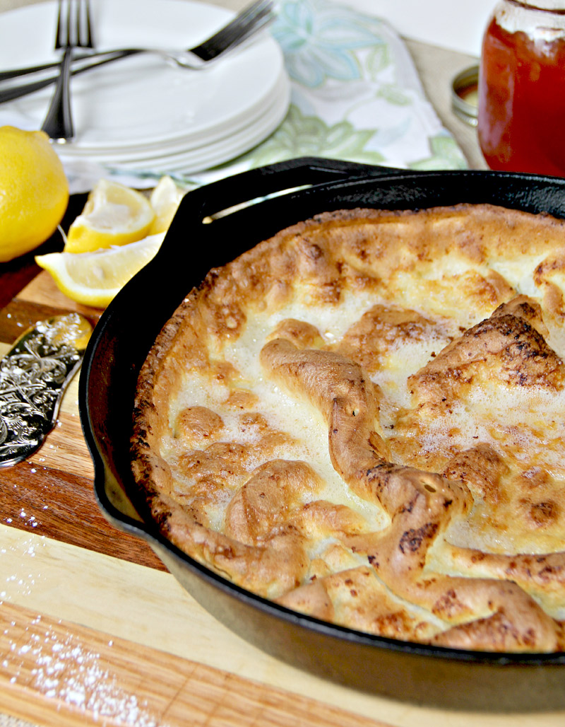 Dutch Baby Pancake is light, fluffy, and delicious—and best of all, it's quick and easy!