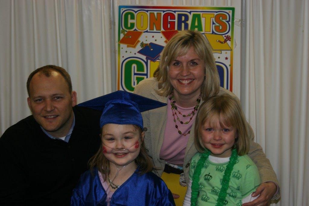 Alexa's graduation from rehab