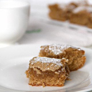 Peanut Butter Snack Cake | inasouthernkitchen.com