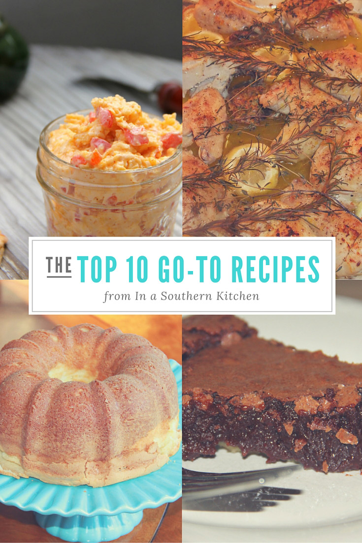 The Top 10 Go-To Recipes from In a Southern Kitchen
