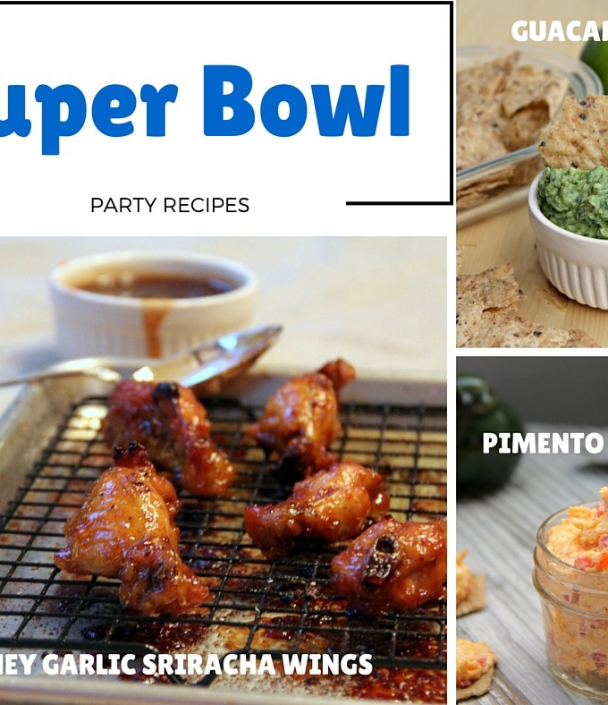 Super Bowl party recipes to help you have the best party ever!