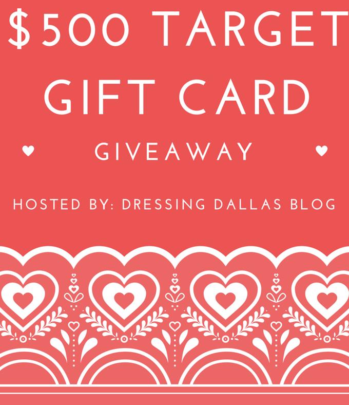 $500 Target Gift Card Main