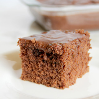 Coca-Cola Cake: old-fashioned chocolate cake made with Coca-Cola--it's rich, moist, and delicious!
