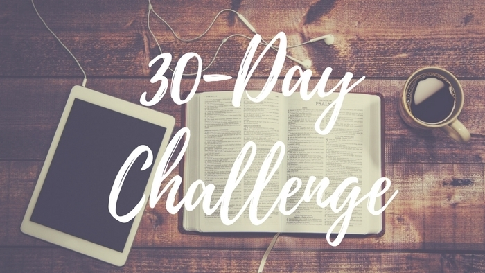 30 Day Challenge Teaser