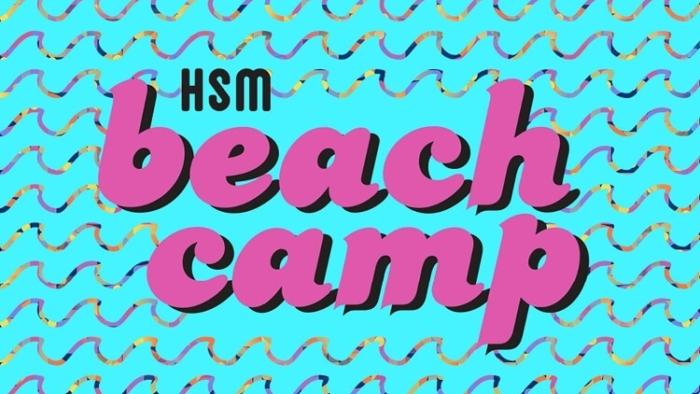 Beach Camp Web Text Card
