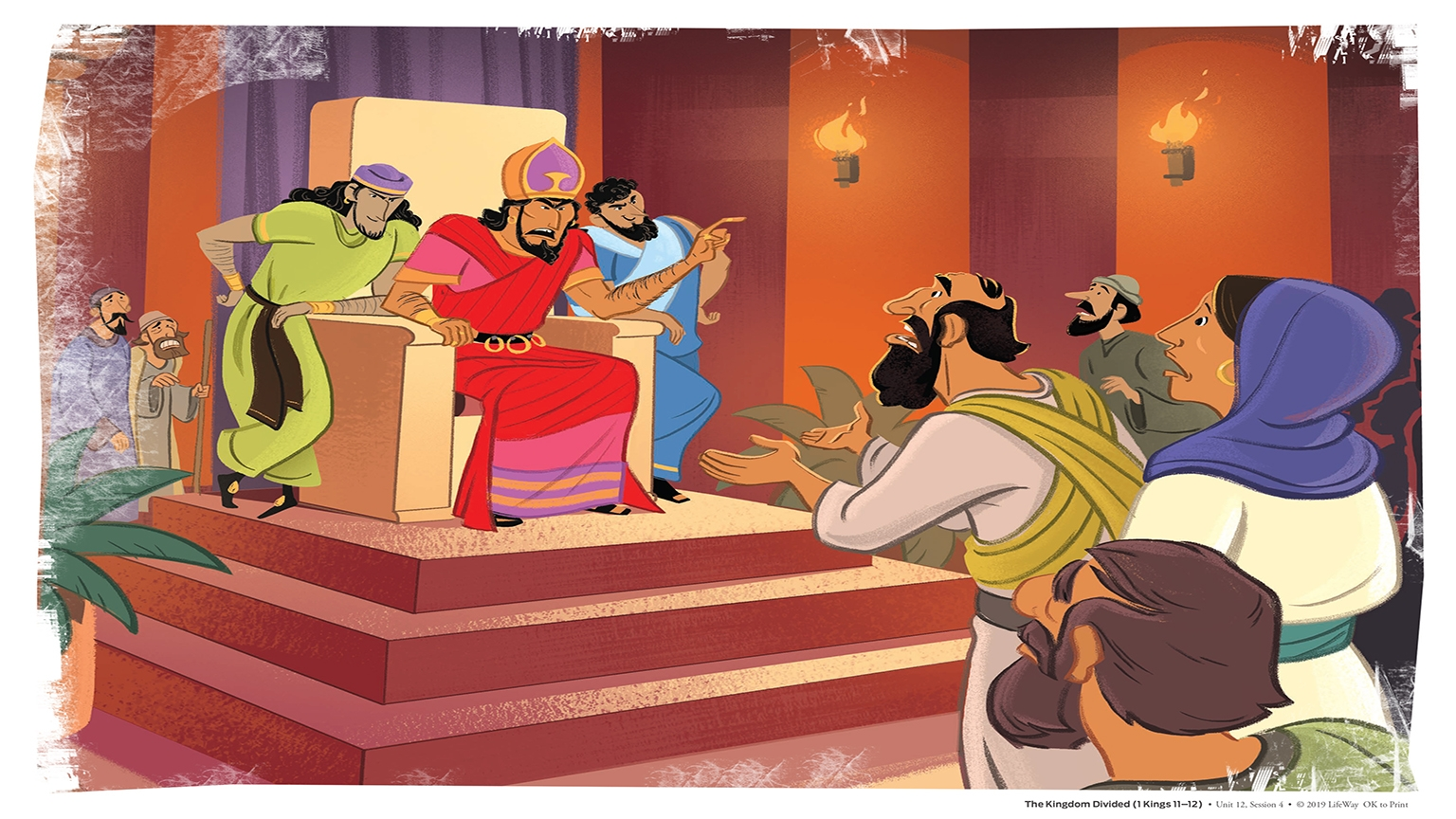 12 4 Bible Story Picture