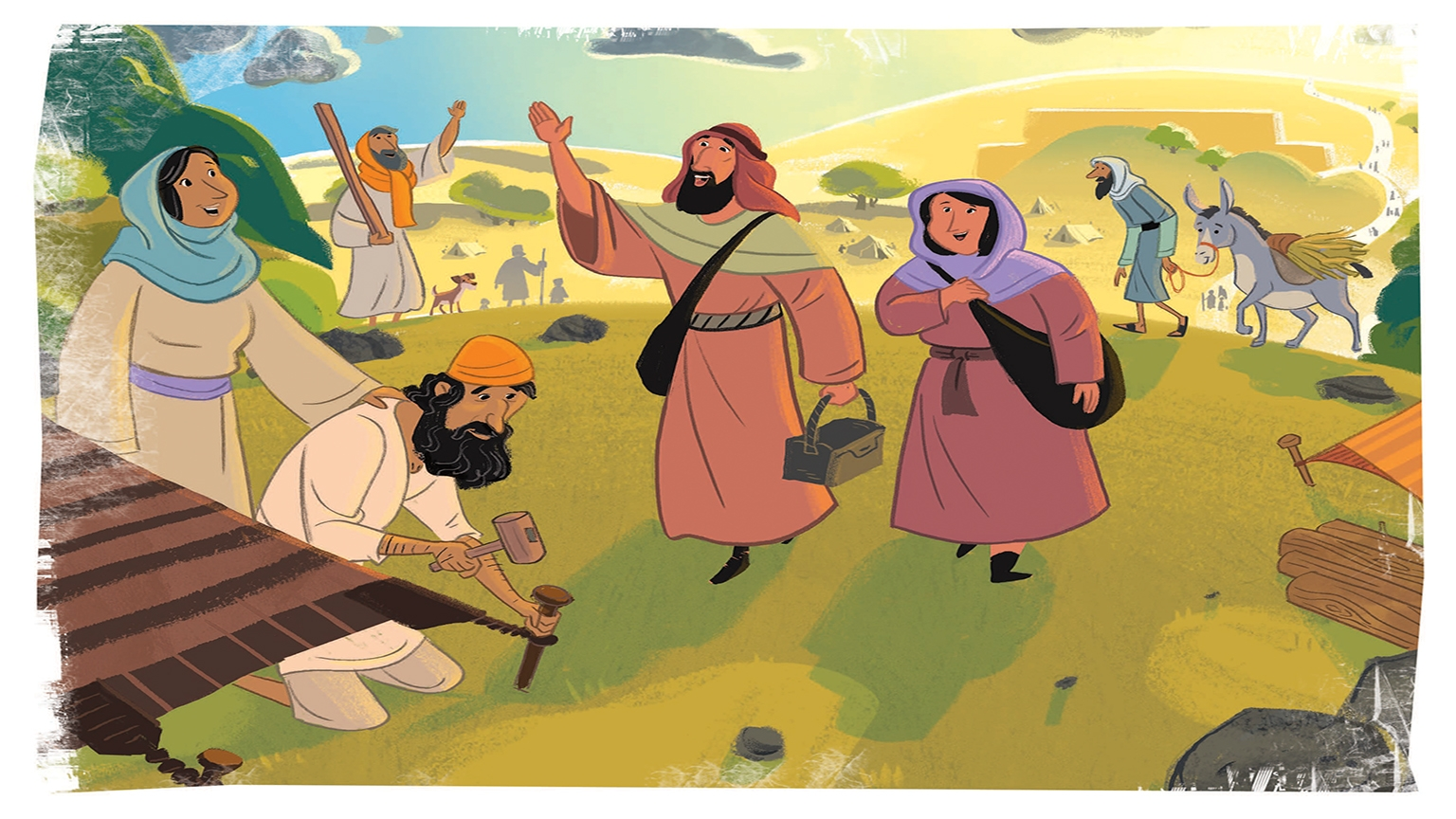 17 1 Bible Story Picture