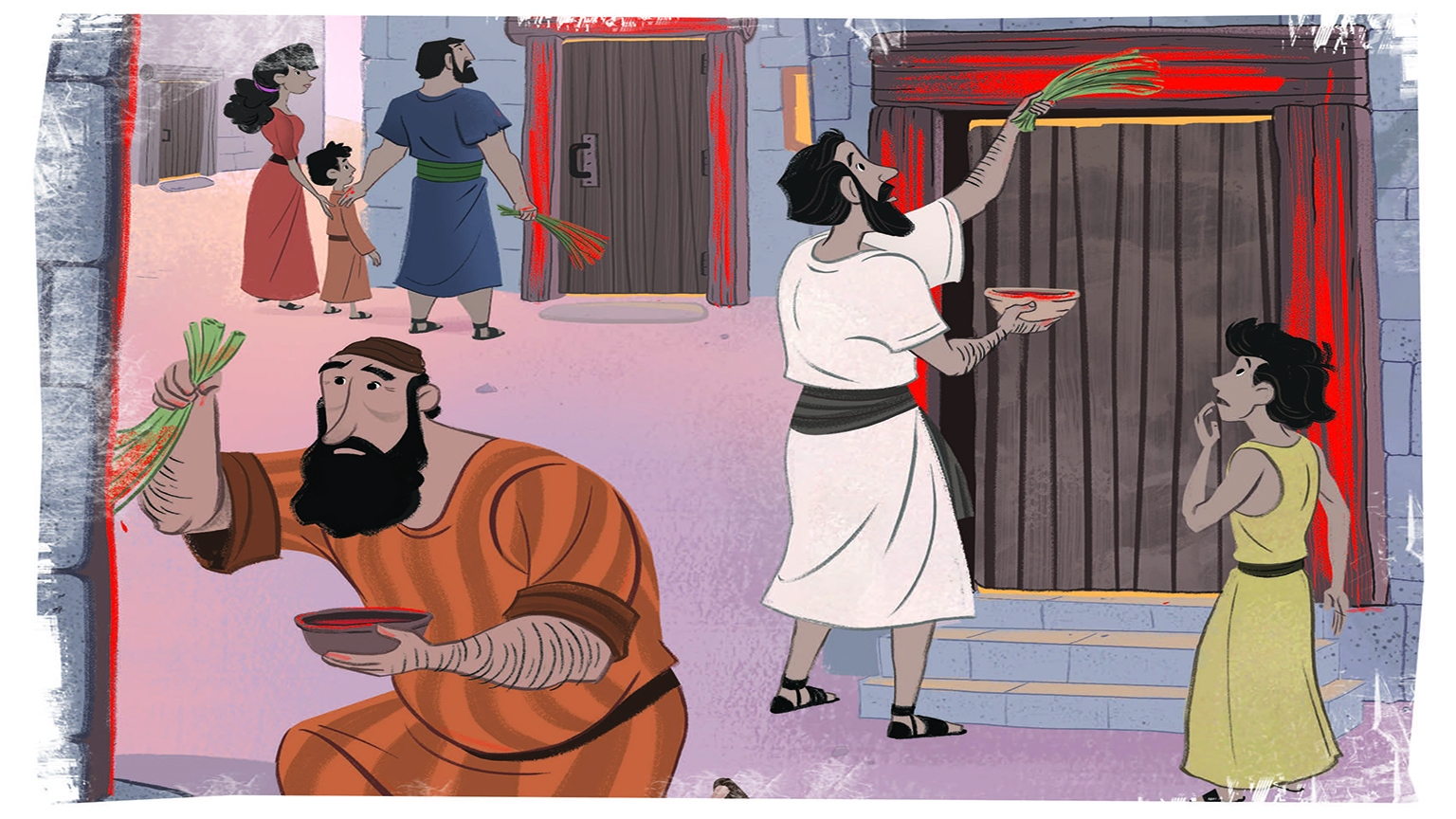 4 5 Bible Story Picture