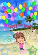 Happy New Year Summer version