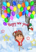 Happy New Year Winter version